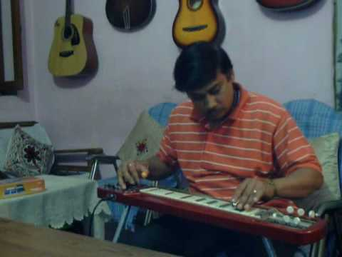 O sathi re solo on Steel Guitar