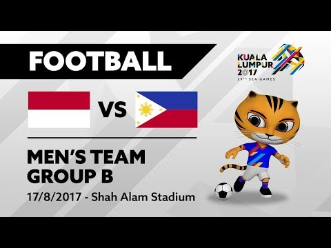 KL2017 Football INA 🇮🇩 vs PHI 🇵🇭 | 17/08/2017