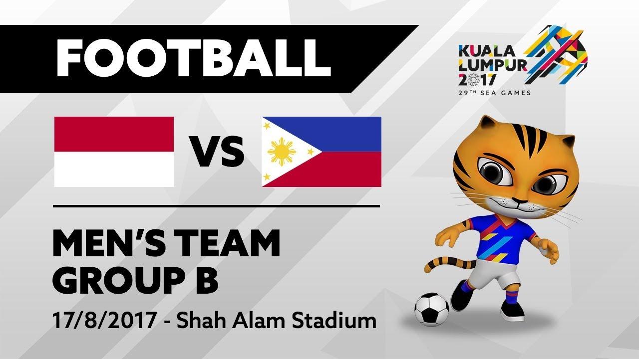 KL2017 29th SEA Games | Men's Football – INA 🇮🇩 vs PHI 🇵🇭