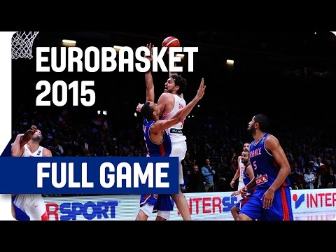 Spain v France - Semi-Final - Full Game - Eurobasket 2015