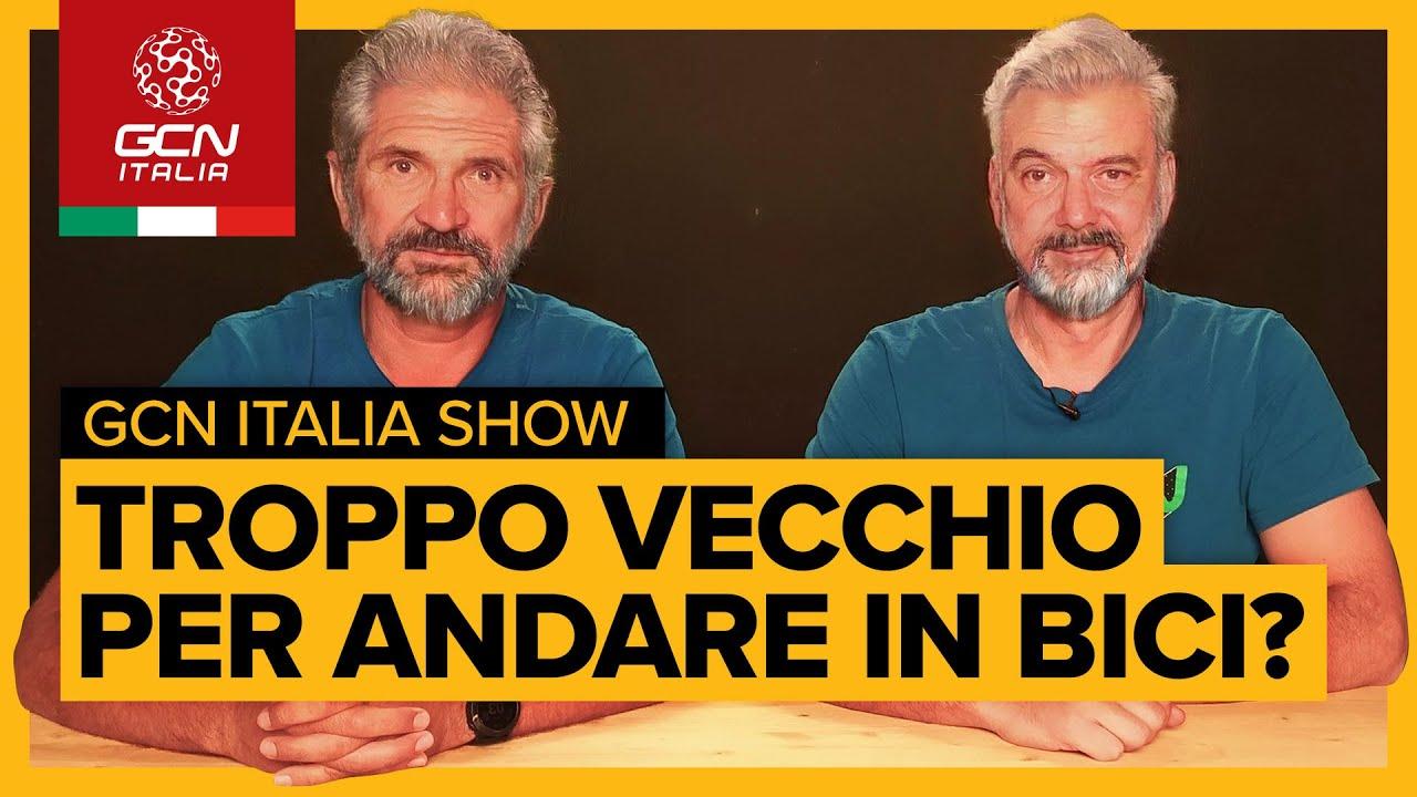 Fino a che età si può pedalare?   GCN Italia Show 80