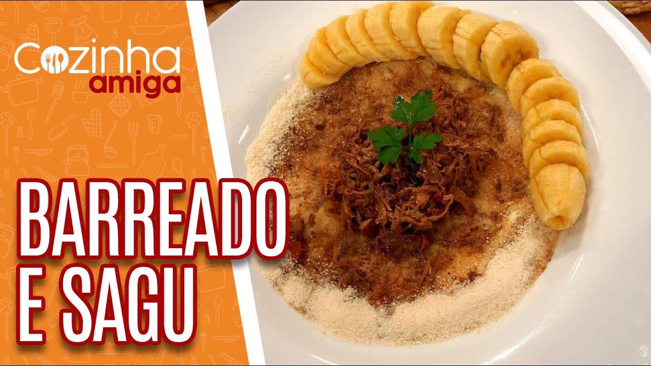 Barreado e Sagu com creme caseiro - Patrícia Gonçalves | Cozinha Amiga (16/09/20)