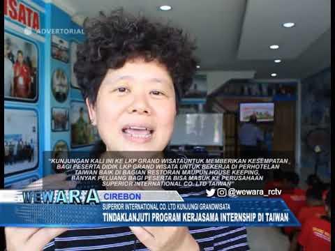 ADV SUPERIOR INTERNATIONAL CO  LTD KUNJUNGI GRANDWISATA, TINDAKLANJUTI PROGRAM KERJASAMA INTERNSHIP