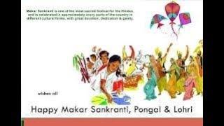 Happy Makar sankranti|Happy Lohri|Happy Pongal|Whatsapp status