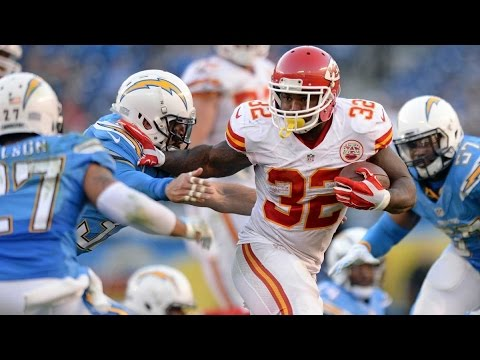 Spencer Ware vs Chargers (NFL Week 11 - 2016) - 96 Yards + 2 TDs! BREAKOUT!