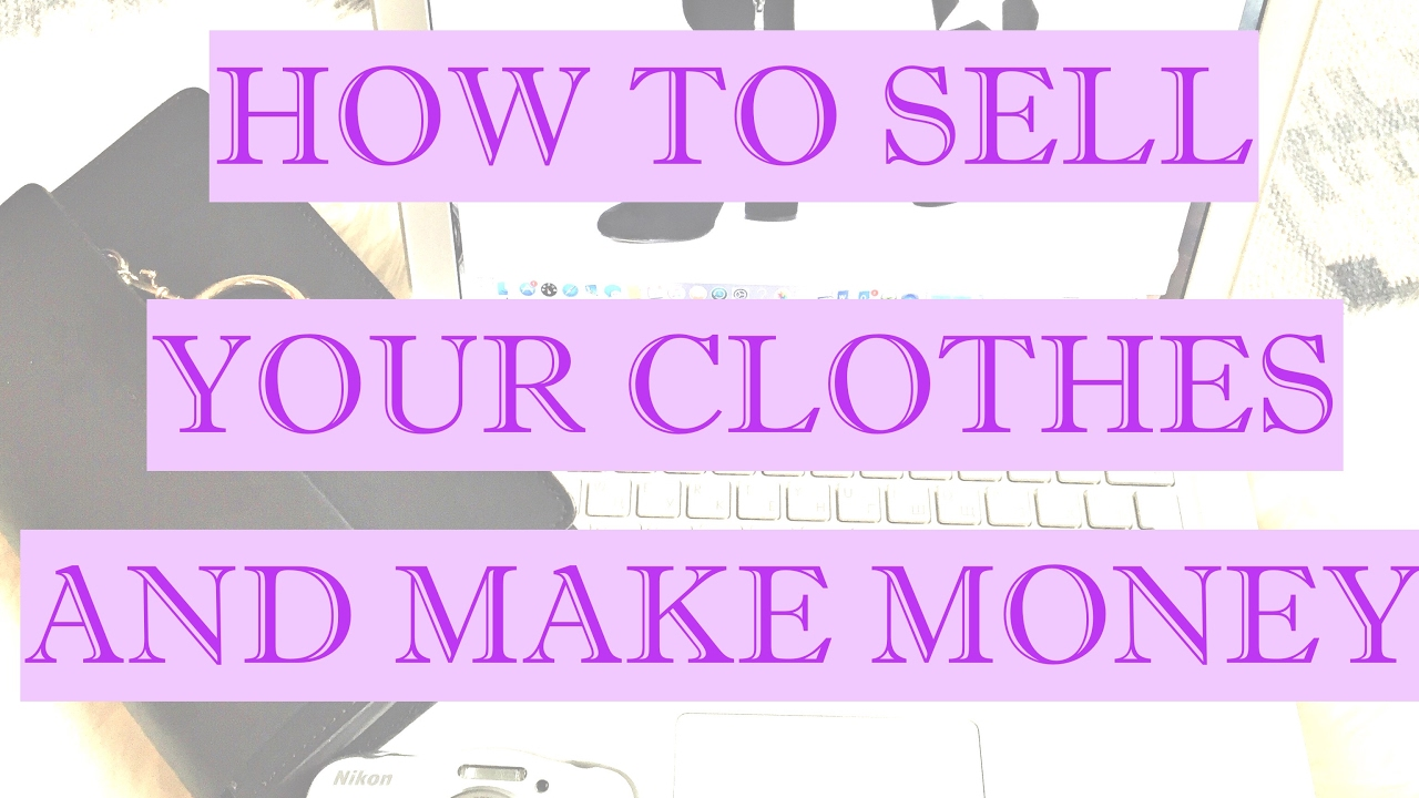 How to sell your clothes and make money youtube How to sell shirts
