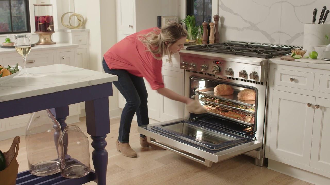 GE Café Professional Range oven system
