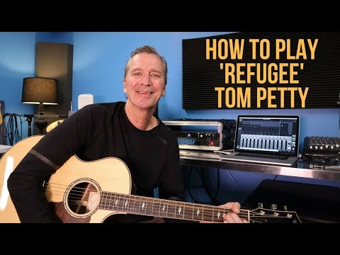 how-to-play-'refugee'-by-tom-petty
