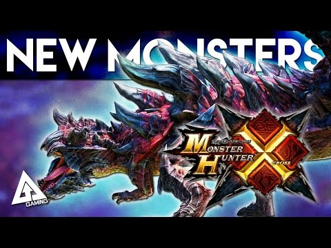 Monster Hunter X - New Monsters and Returning Flagships