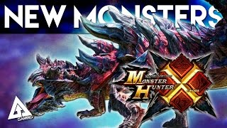 Monster Hunter X - New Monsters and Returning Flagships