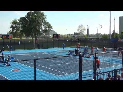 Mitchell Frank Serves Up Virginia's 1st Ever Tennis Championship