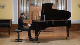 Asen Tanchev plays L. v. Beethoven - Piano Sonata nr. 31 op. 110 in A-flat major