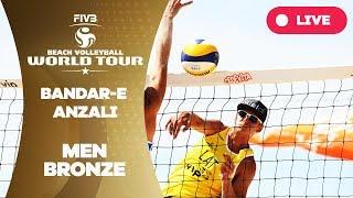 Bandar-e Anzali 1-Star - 2018 FIVB Beach Volleyball World Tour - Men Bronze Medal Match