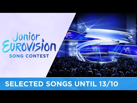 Junior Eurovision 2016: Selected songs until 13 October 2016