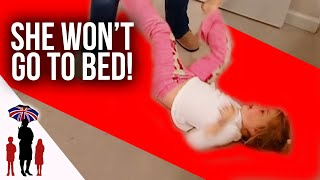 Supernanny Teaches Bedtime Routine  | Supernanny