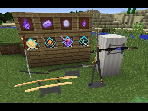Minecraft: Slashblades Indepth Mod Spotlight