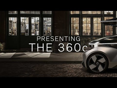 Volvo's 360c concept car is a fully autonomous bedroom on wheels