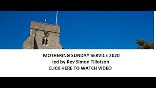 Mothering Sunday celebration All Saints Whitstable 2020