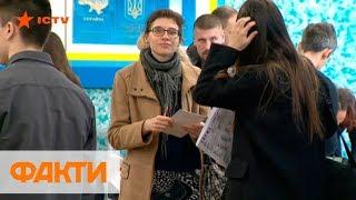 Как проходит голосование на участках в Киеве