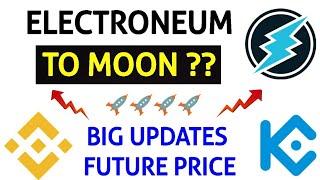 Electroneum price prediction ? New updates (hindi) ✈️