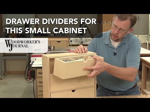 Tips for Adding Drawer Dividers | Small Cabinet Project