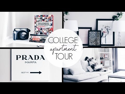 SOPHOMORE YEAR APARTMENT TOUR 2017 // RACHEL NOELLE