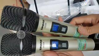 Micro không dây Shure UGS9 chống hú cực ngon giá tốt nhất Việt Nam  chỉ 1 triệu 500k