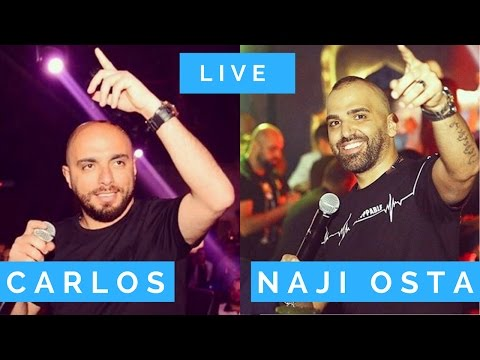 Carlos & Naji el Osta live one man show party 7afle Lebanon  - كارلوس ناجي الاسطا
