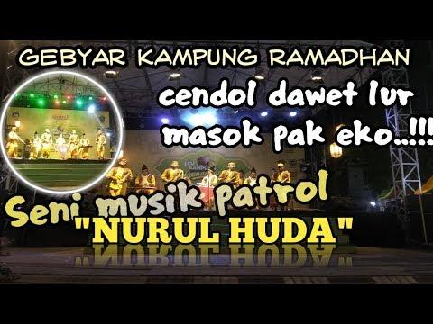 Aksi Spektakuler Seni Musik Patrol AREK SIDOARJO NURUL HUDA Di Kampung RAMADHAN #MUSIKTRADISIONAL