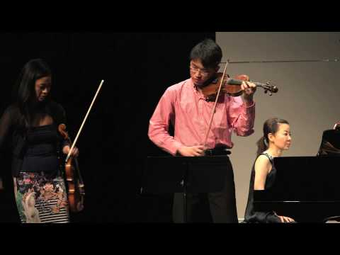 Chee-Yun - masterclass on Tchaikovsky's violin concerto