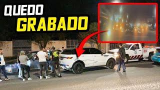 ME CHOCARON LA RANGE ROVER Y QUEDÓ TODO GRABADO.. | ManuelRivera11