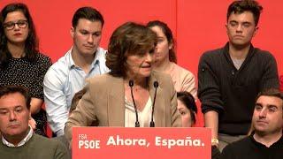 """Calvo reprocha al PP que """"nunca, ni un sólo milímetro"""" les han apoyado"""