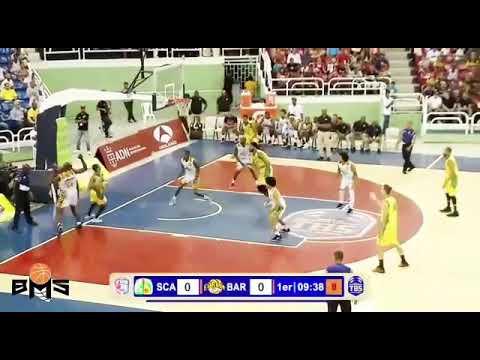 Jamaal Samuels 17 pts,19 rbs and 4 blocks Dominican Republic Highlight vs San Carlos