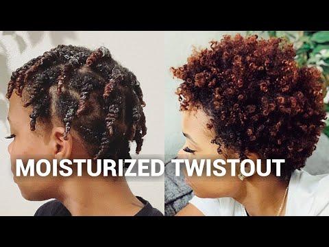 moisturized-twistout!