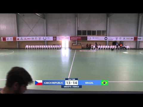 Czech Republic vs Brazil | Female | Group B | UMinho Sports Hall