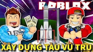 Roblox | CÙNG TRIỆU PHÚ VAMY XÂY TÀU VŨ TRỤ ĐẾN HÀNH TINH LẠ - 2 Player Planet Tycoon | KiA Phạm