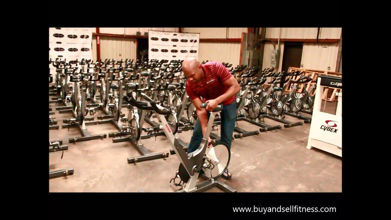 Keiser M3 Spin Bike For Sale January 2018 Used Commercial Gym