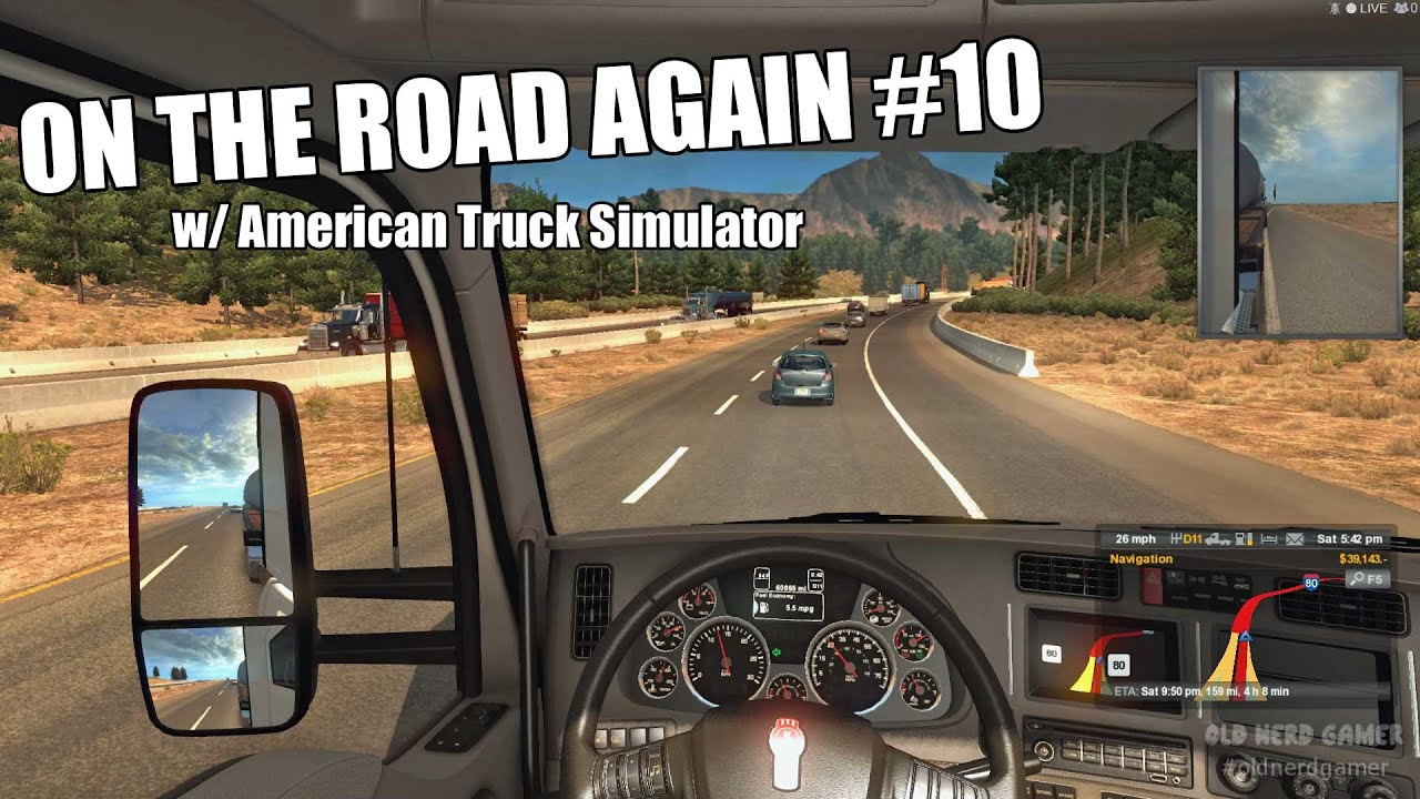 on the road again american truck simulator 10 youtube. Black Bedroom Furniture Sets. Home Design Ideas