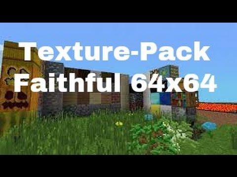 Minecraft PE: Faithful Texture Pack