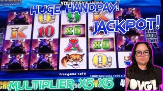 MULTIPLIER X5 X5 | ✦✦HUGE JACKPOT✦✦ ARISTOCRAT BUFFALO LEGENDS DELUXE / BUFFALO SLOT MACHINE