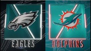Madden 20 Simulation - Philadelphia Eagles vs Miami Dolphins - Simulation Nation