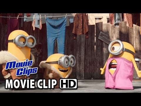Minions Movie Clip New York 2015 Hd Youtube
