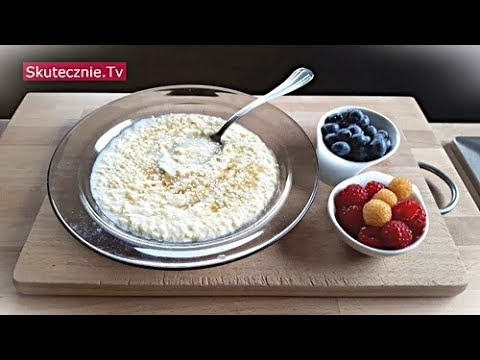 Zupa mleczna jaglana :: Skutecznie.Tv [HD]