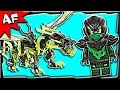 Lego Ninjago Attack Of MORRO DRAGON 70736 Ghost Army Stop Motion Build Review mp3