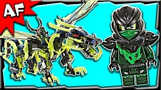 Lego Ninjago Attack of MORRO DRAGON 70736 Ghost Army Stop Motion Build Review