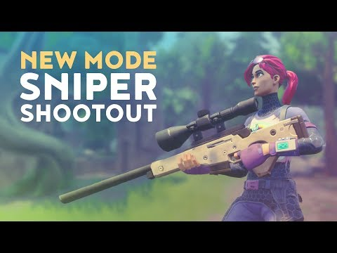 NEW MODE: SNIPER SHOOTOUT! (Fortnite Battle Royale)