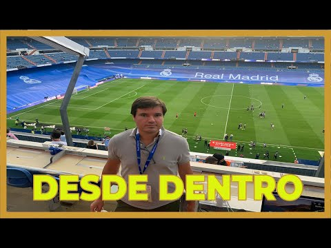 ASÍ FUE LA VUELTA AL SANTIAGO BERNABÉU DESDE LA CABINA DE RADIO MARCA. REAL MADRID CELTA 5-2