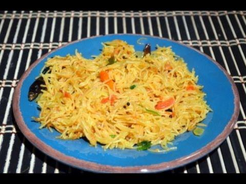 Semiya Upma - Easy Indian  Breakfast Recipe