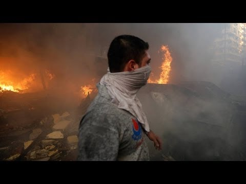 Bombing in Beirut: Aftermath of Attack - 2013
