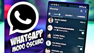 Como Tener WHATSAPP MODO OSCURO en Cualquier Android 2020 | METODO NUEVO [FUNCIONA 100%]